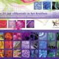 Viltevenement in Kruithuis Den Bosch ter ere van 20 jaar Vilt Kontaktgroep