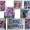 Boerenbont & Delftsblauw en Lentesneeuw