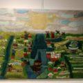 'Zaans groen' – voor vilt expositie in het Weefhuis Zaandijk